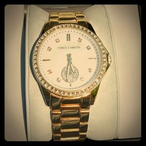 NWT Vince Camuto Gold Watch